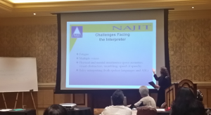 Sabine Michael discusses NAJIT's materials for educating the bench and bar on interpreting issues.